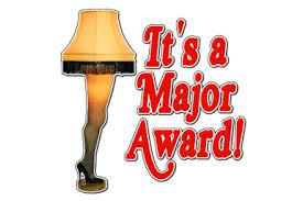 It's A Major Award!