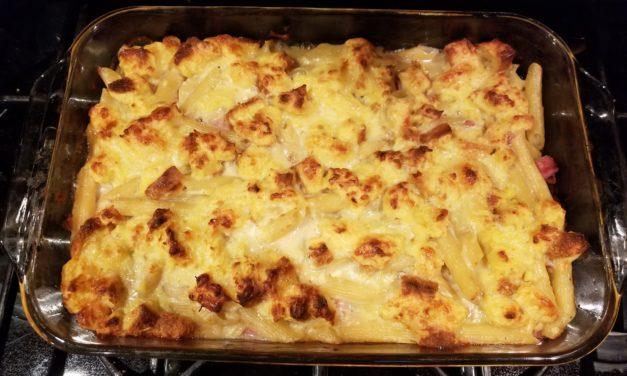 Croque Monsieur Mac & Cheese